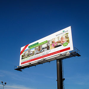 Roadside billboard