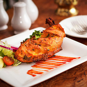 Food photography - chicken at Rajdoot