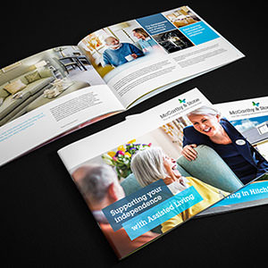 McCarthy & Stone Assisted Living brochures