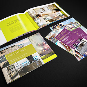 McCarthy & Stone - Ortus Homes brochure and leaflets