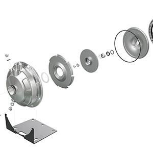 Product 3D exploded view